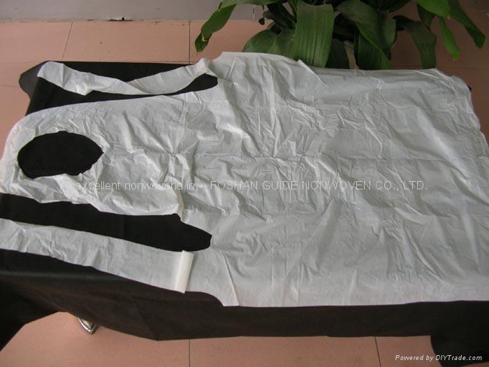 disposable PE apron and nonwoven apron