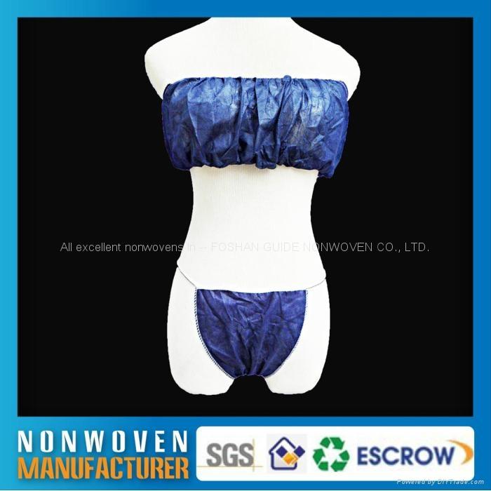 优质柔软的无纺布一次性内衣裤 4