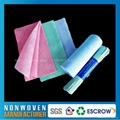 批发日常可回收一次性无纺布酒店柔巾卷擦拭布 5