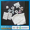 Non-woven compressed towel