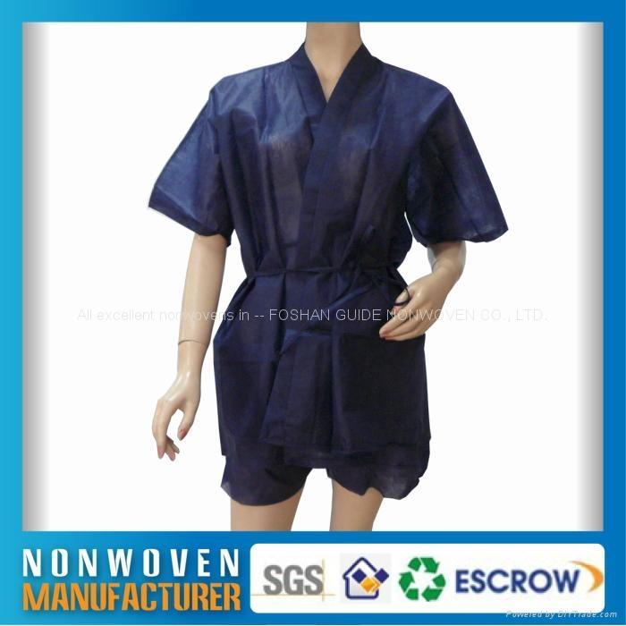 無紡布浴袍、和服、美容服 3