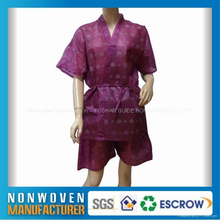 無紡布浴袍、和服、美容服 4