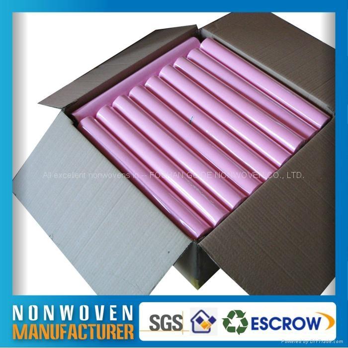 包装用的彩色化学粘合法无纺布 2