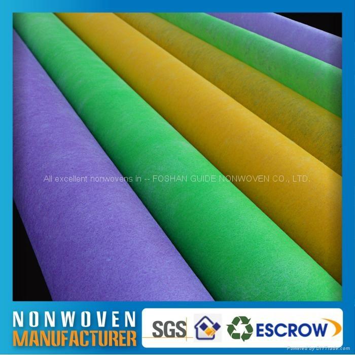 包装用的彩色化学粘合法无纺布 3