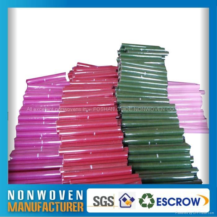 包裝用的彩色化學粘合法無紡布 4