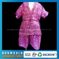 China Factory Price Disposable Nonwoven Sauna Suit