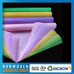 鲜花包装布/纸(彩色浸渍无纺布)