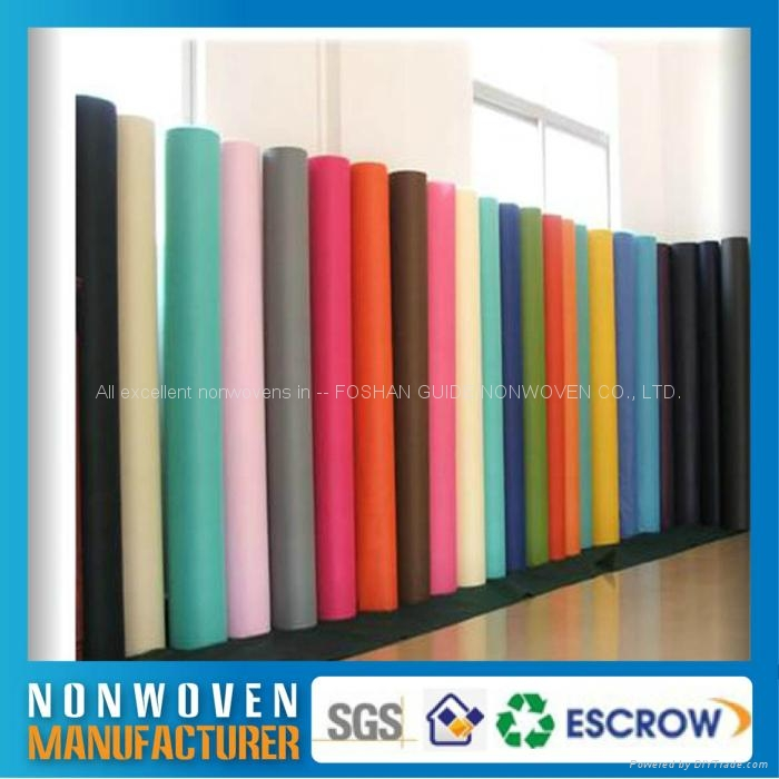 colorful polypropylene (PP) Spunbound non-wovens IN STOCK 1