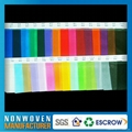 colorful polypropylene (PP) Spunbound non-wovens IN STOCK 3