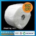 Nonwovne clean towel rolls