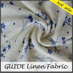 100% Linen fabric knit for shirt clothing
