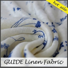 100% Cotton Linen fabric for Garment
