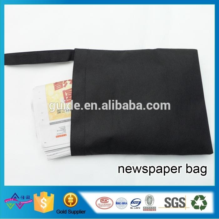 Environmental Biodegradable Recycled Newspaper Non-woven Bag Wholesale