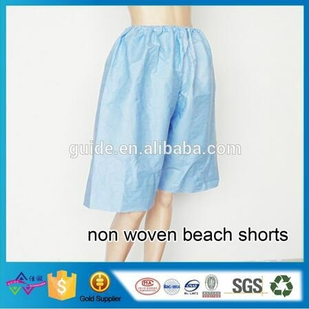 Manufacturer Soft Quick Dry Beach Shorts Disposable Shorts