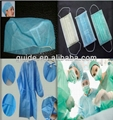 SMS Nonwoven fabric for surgical gowns