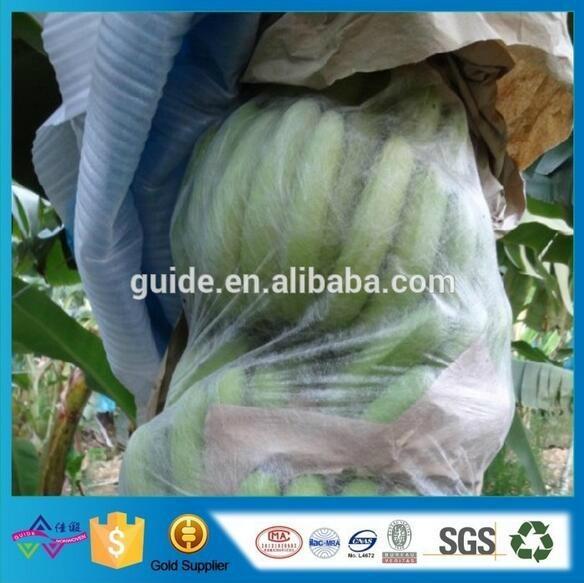 定制无纺布水果套袋 厂家批发防虫防鸟拉绳袋 水果保护膜 1