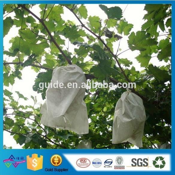 定製無紡布水果套袋 廠家批發防虫防鳥拉繩袋 水果保護膜 2