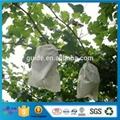 定制无纺布水果套袋 厂家批发防虫防鸟拉绳袋 水果保护膜 2