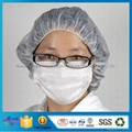 Disposable Nonwoven Mask Tie On 3 Ply Face Mask For Beauty Salon