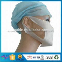 Waterproof Elastic Spunbonded PP Nonwoven For Medical Grad Facial mask