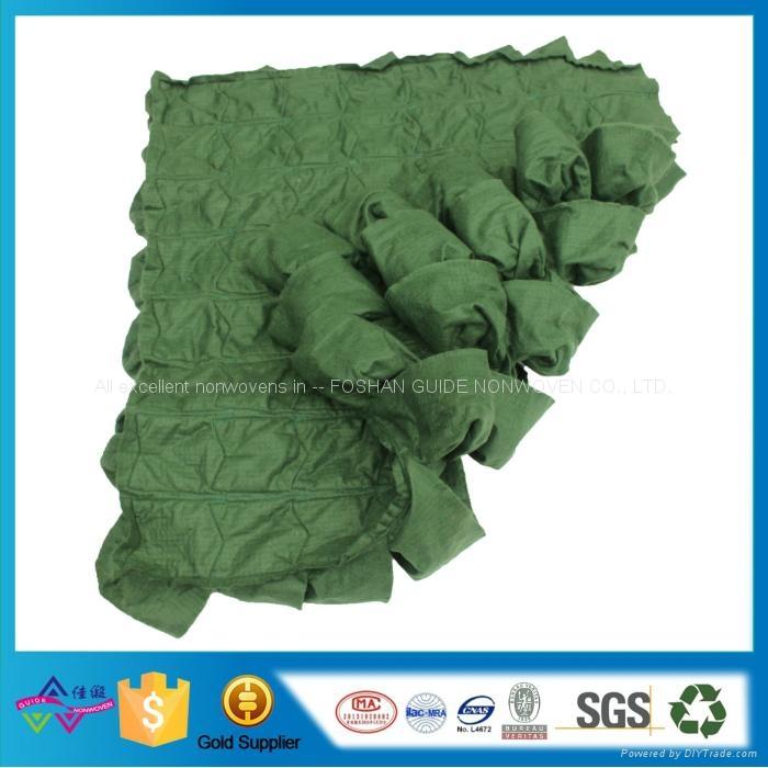 现货81口袋绿色毛毡美植袋 植物墙面植物袋 壁挂种植袋 2