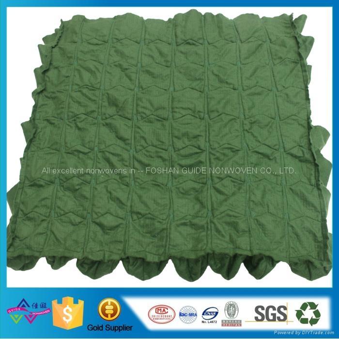 现货81口袋绿色毛毡美植袋 植物墙面植物袋 壁挂种植袋 3