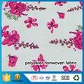 Printed PET Nonwoven Fabric
