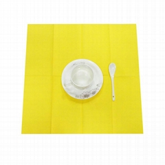 Pure Wood Pulp fabric Dinner Napkins For Restaurant
