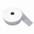 Eco Friendly Perforated 3D Emboss Hydrophilic Hot Air Non Woven Fabric