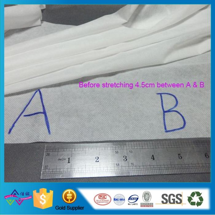 Guangdong Foshan elastic Nonwovens Fabric for Plaster stick