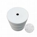 Hot-Air Nonwoven ES Hot Air Cotton ES Fiber Hot Air Fabric For N95 2