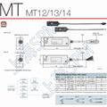 Detectors  MT12,MT13,MT14 for DIGItal Gauge DT 2
