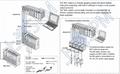 高精度测厚测高数据传输模块MG10-P1,MG10-P2