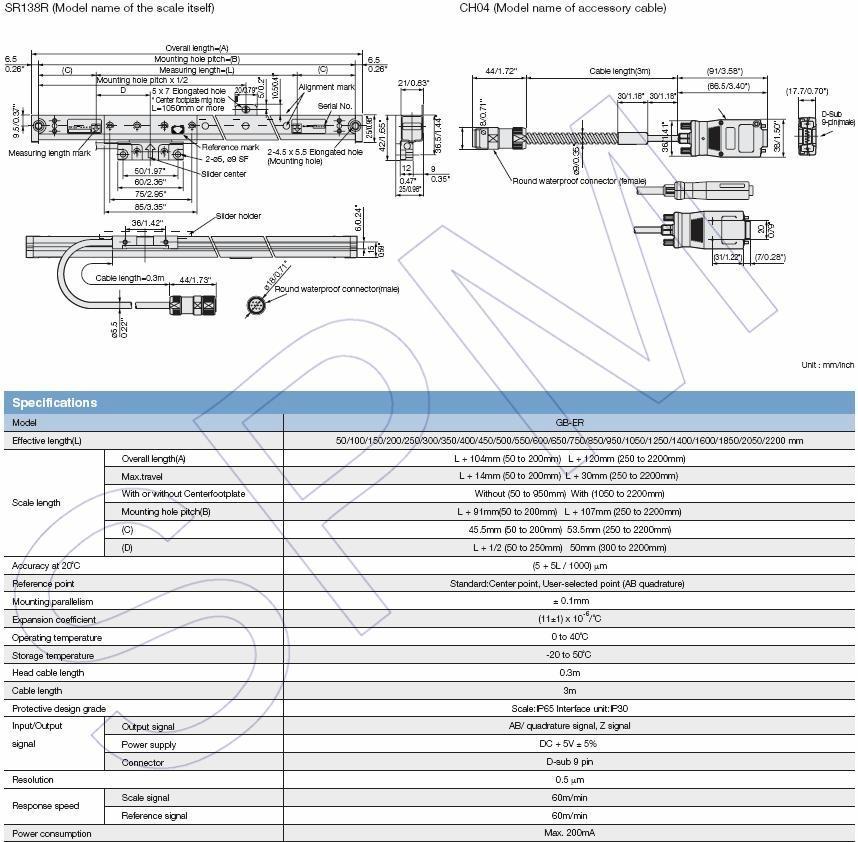 Digiruler SR128-025,SR138-025R,GB-025ER 4
