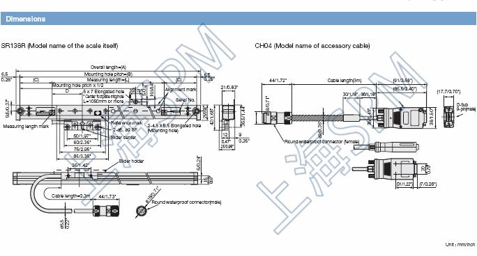 Digital Scale SR128-075,GB-075ER,SR138-075R 3