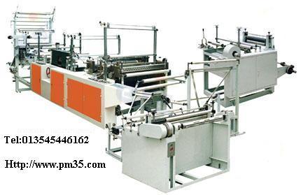 Ribbon-through Continuous-roll Bag-Making machine 1