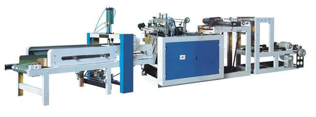high-speed heat-sealing & heat-cutting plastic film making-bag machine 1