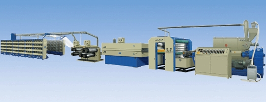High Speed Extruding & Stretching Line 1