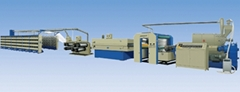 High Speed Extruding & Stretching Line