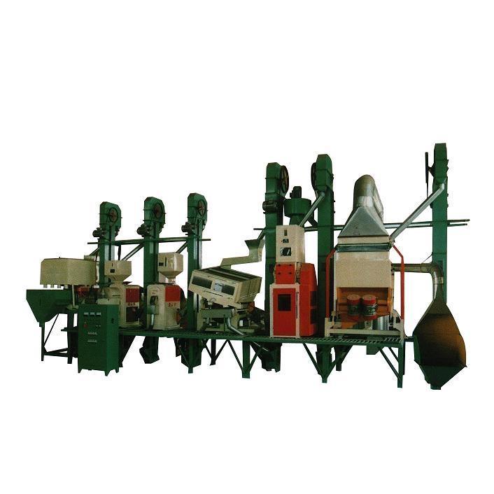 40-50T/D成套米机设备