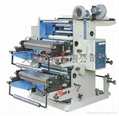 二色柔性凸版印刷機