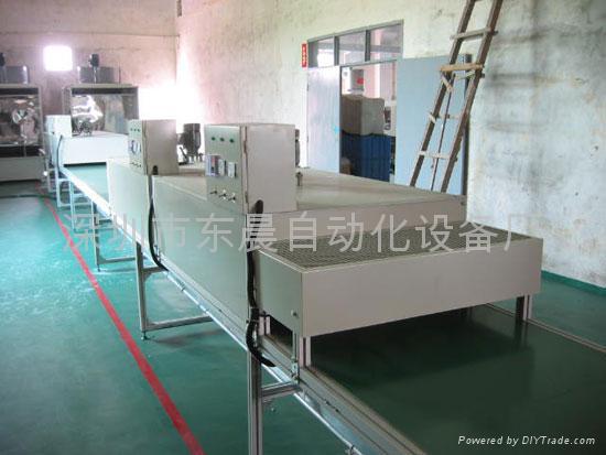 隧道式烤炉烘干线 1