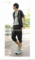 运动套装 (短袖、连帽、七分裤)