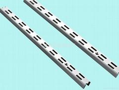 佛山成羿專業生產加厚鍍鉻寬面雙孔AA柱