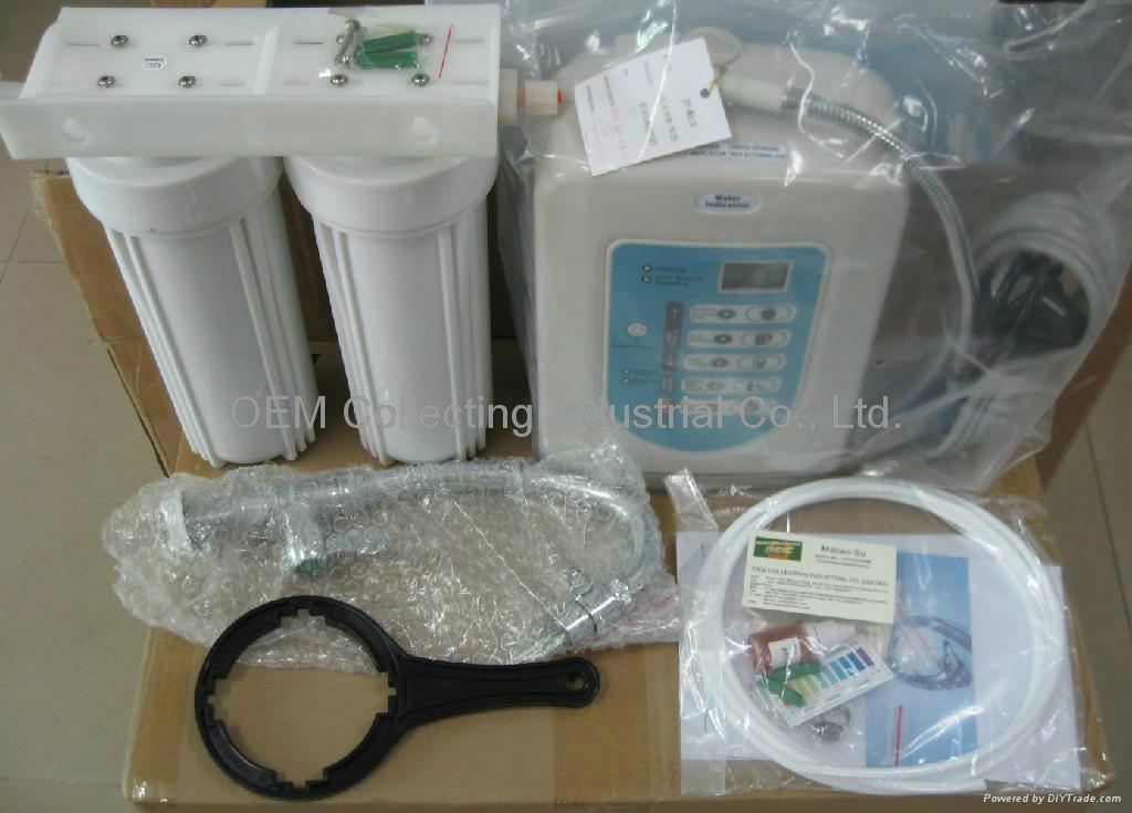 Active Carbon Filter Alkaline Water Ionizer Purifier (SY-W816) 1