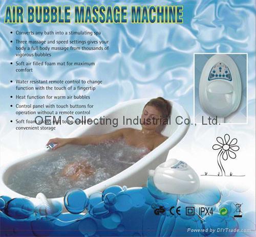 Bubble SPA Ozonizer Water Purifier Sterilizer Massager (SY-G008) 2