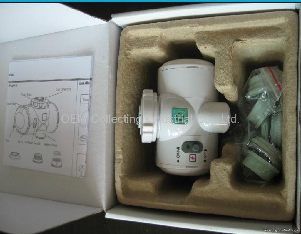 Hydropower Tap Ozone Generator Water Purifier (SW-1000) 4