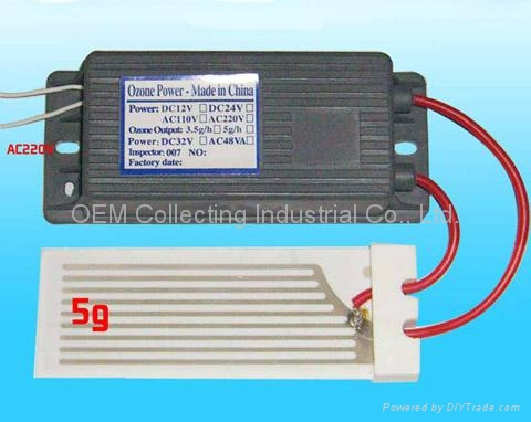 陶瓷片臭氧發生器 (SY-G5g) 1