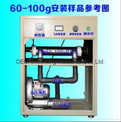 钛合金管式臭氧发生器 (SY-G100g)