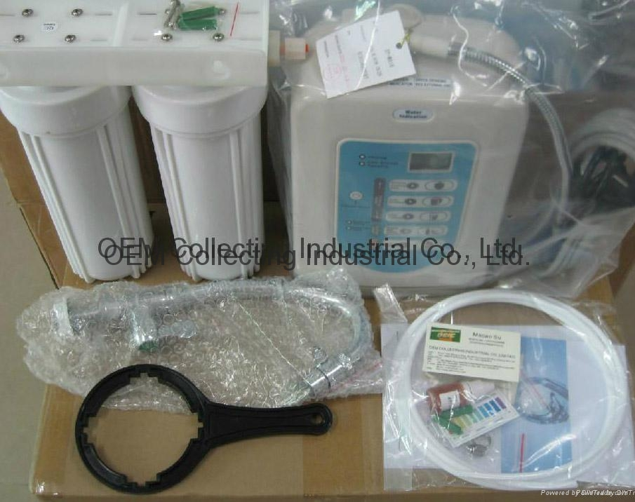 Active Carbon Filter Alkaline Water Ionizer Purifier (SY-W816) 4